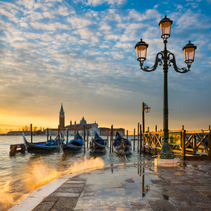 Picture no: 11962379 Sonnenaufgang in Venedig Created by: Mapics