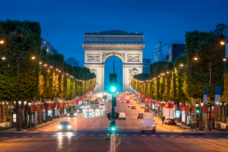 Picture no: 11969869 Arc de Triomphe in Paris Created by: eyetronic