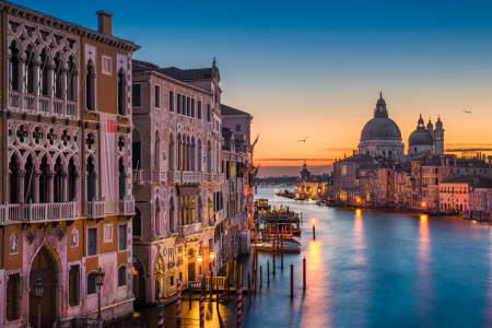 Picture no: 11975154 Sonnenaufgang in Venedig Created by: Mapics