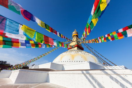 Picture no: 11977142 Bodnath Stupa in Kathmandu Created by: janschuler