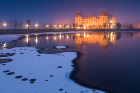 Picture no: 11977305 Schloss in Moritzburg am Winterabend Created by: Martin Wasilewski