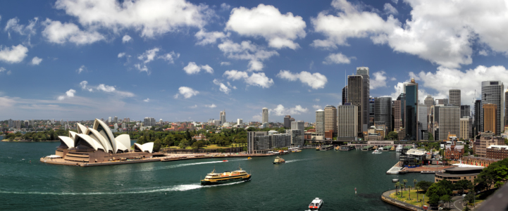 Picture no: 11978115 Sydney Panorama Created by: DirkR