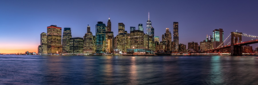 Picture no: 11981053 New York City Skyline Created by: Achim Thomae