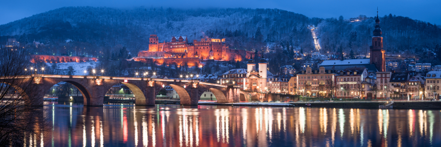 Picture no: 11983127 Heidelberg Panorama im Winter Created by: eyetronic
