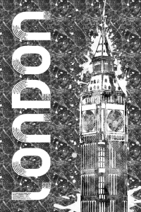 Picture no: 11986128 Grafikkunst LONDON Big Ben  Created by: Melanie Viola