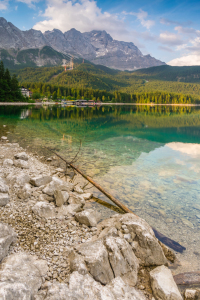 Picture no: 11987599 Sommer am Eibsee in Grainau Created by: Martin Wasilewski