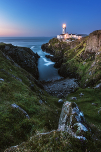Picture no: 11987744 Irland Fanad Head Leuchtturm Blaue Stunde Created by: Jean Claude Castor