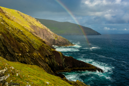 Picture no: 11989564 Regenbogen an der Küste von Slea Head in Irland Created by: Andreas Berthold