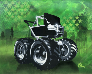 Picture no: 11991533 Baby Monstertruck grün Created by: Oliver Ende