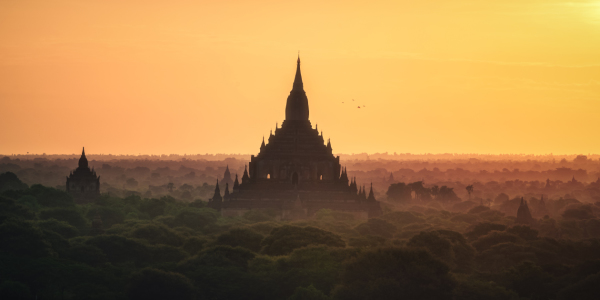 Picture no: 11993034 Myanmar Bagan Sonnenaufgang Created by: Jean Claude Castor