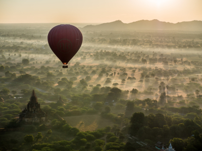 Picture no: 11994765 Bagan Sunrise Created by: andreasschwalm