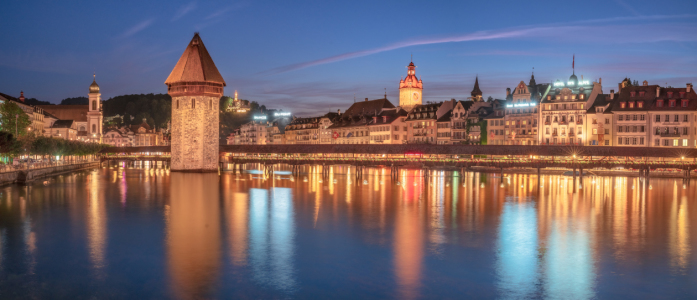 Picture no: 11999847 Abendstimmung in Luzern Created by: Achim Thomae