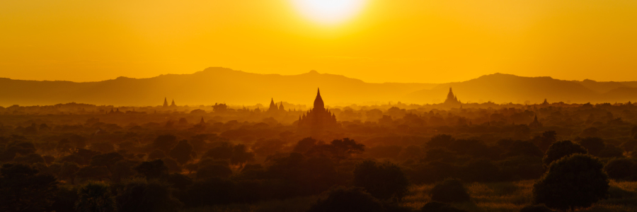Picture no: 12000232 Bagan Sunset Created by: andreasschwalm