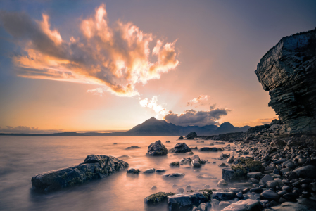Picture no: 12002667 Sommernacht in Elgol Created by: Mike Kreiten