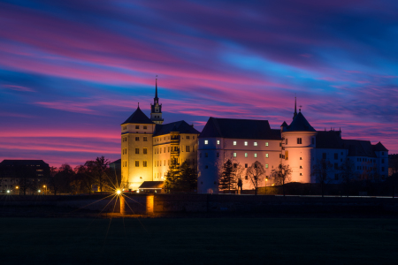 Picture no: 12006068 Schloss in Torgau am Abend Created by: Martin Wasilewski