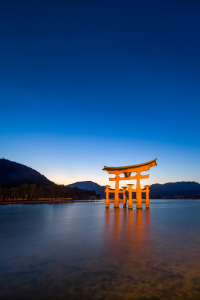 Picture no: 12007448 Großes Torii in Miyajima Created by: eyetronic