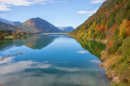 Picture no: 12008526 Sylvensteinsee im Herbst Created by: SusaZoom