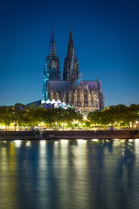 Picture no: 12011630 Kölner Dom am Abend Created by: Martin Wasilewski