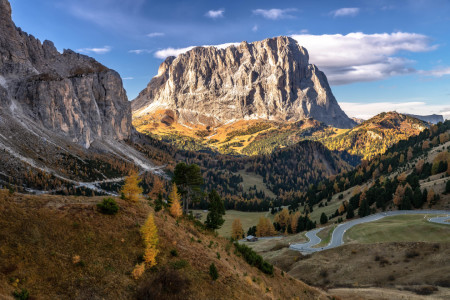 Picture no: 12015710 Herbst am Langkofel - Dolomiten Created by: Achim Thomae