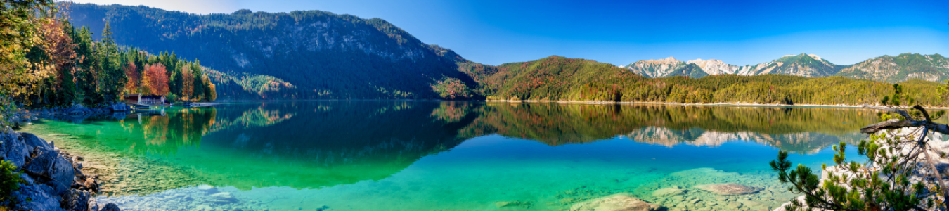 Picture no: 12017493 Panorama Eibsee Created by: aCtiOn