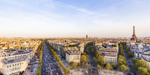 Picture no: 12017838 Champs-Elysees und Eiffelturm in Paris Created by: dieterich