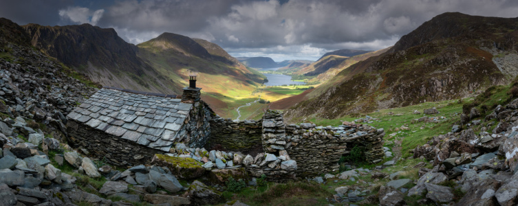 Picture no: 12018374 Warnscale Bothy über Buttermere im Lake District Created by: orxy
