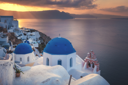 Picture no: 12018415 Santorini Oia Sonnenaufgang II Created by: Jean Claude Castor