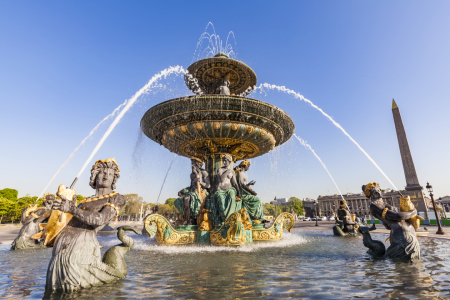Picture no: 12020971 Springbrunnen am Place de la Concorde in Paris Created by: dieterich