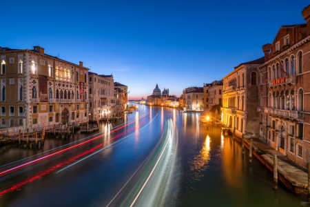 Picture no: 12029257 Canal Grande in Venedig bei Nacht Created by: eyetronic