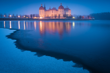 Picture no: 12036383 Winterabend in Moritzburg Created by: Martin Wasilewski