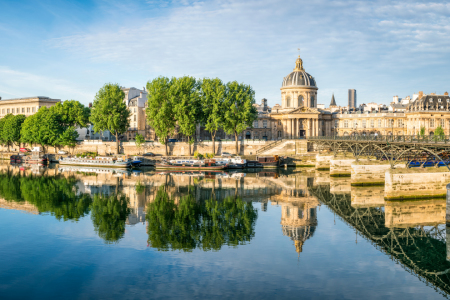 Picture no: 12039998 Pont des Arts und Insitut de France in Paris Created by: eyetronic