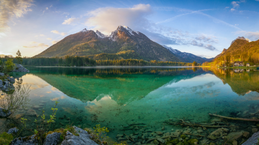 Picture no: 12042050 Hintersee Panorama Created by: Martin Wasilewski