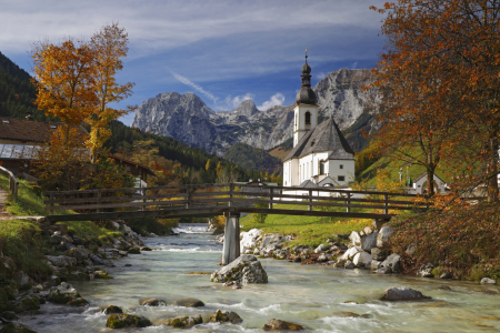 Picture no: 12046576 Ramsau Kirche Created by: Norbert Liesz