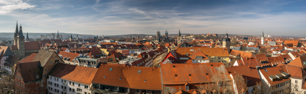 Picture no: 12047632 Erfurt Panorama Created by: FotoDeHRO