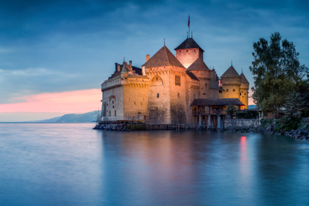 Picture no: 12056990 Schloss Chillon am Genfersee Created by: eyetronic