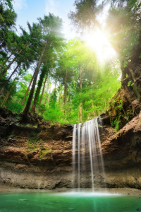 Picture no: 12058600 Faszinierende Landschaft mit Wasserfall Created by: Smileus