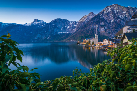 Picture no: 12061404 Blaue Stunde in Hallstatt Created by: Martin Wasilewski