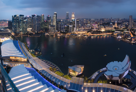 Picture no: 12062933 Singapur-Panorama Created by: orxy