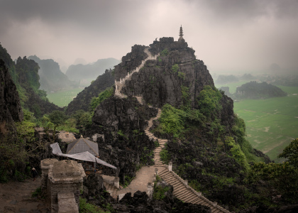 Picture no: 12062970 Hang Mua Peak in Tam Coc - Ninh Binh - Vietnam Created by: orxy