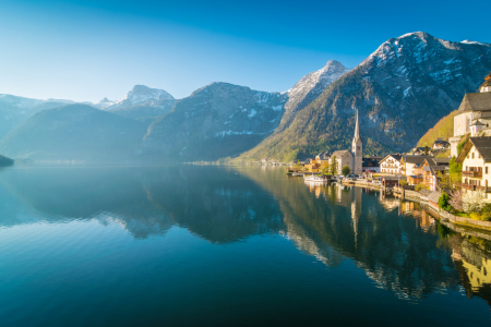 Picture no: 12063287 Sonnenaufgang in Hallstatt Created by: Martin Wasilewski