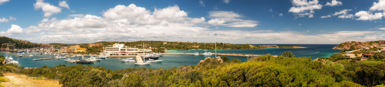 Picture no: 12068721 Der Hafen der Costa Smeralda Created by: Nordbilder