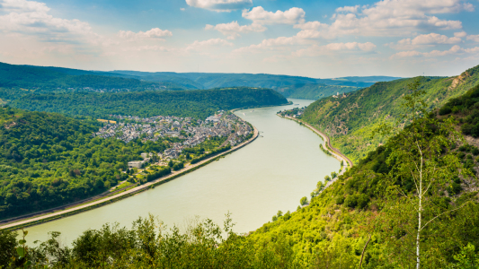 Picture no: 12075102 Hindenburgblick auf Bad Salzig 56 Created by: Erhard Hess