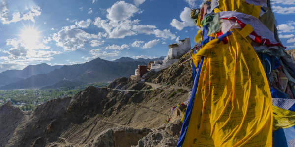 Picture no: 12078149 Namgyal Tsemo Gompa Created by: Walter G. Allgöwer