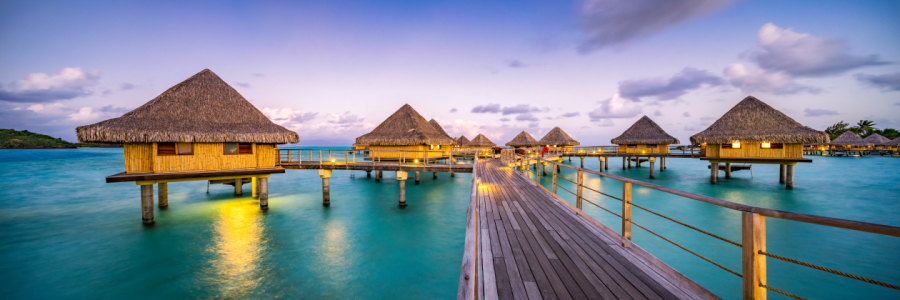 Picture no: 12086678 Overwater Bungalows auf Bora Bora Created by: eyetronic