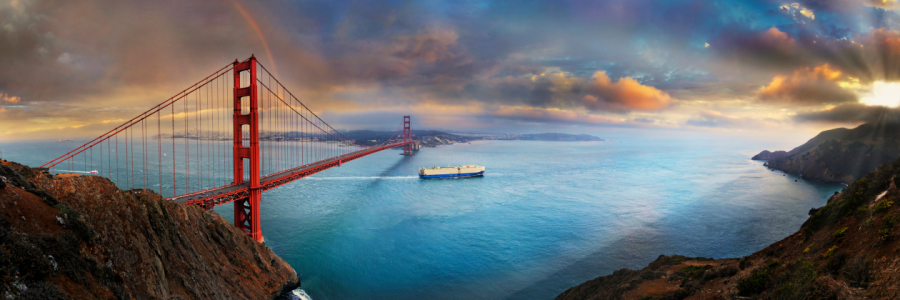 Picture no: 12087173 Golden Gate Panorama Created by: Rucker