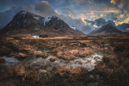 Picture no: 12088557 Schottland Glencoe Tal Panorama Created by: Jean Claude Castor