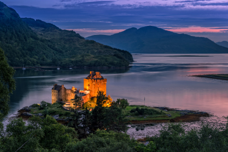 Picture no: 12089405 eilean donan castle Created by: HeschFoto