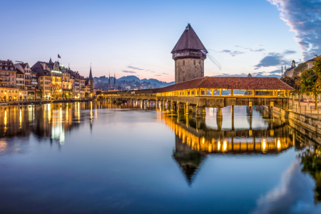 Picture no: 12089816 Luzern Kapellbrücke Created by: eyetronic