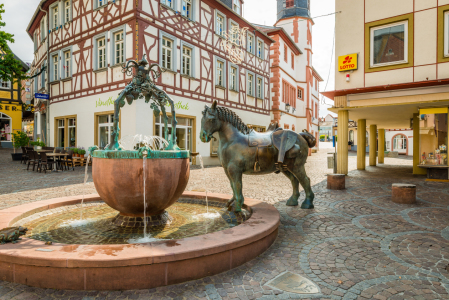 Picture no: 12089856 Rossmarktbrunnen  Alzey 700 Created by: Erhard Hess