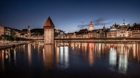 Picture no: 12090973 Luzern am Abend Created by: Achim Thomae